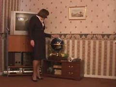 Granny Fingering in Fully Fashioned Nylons