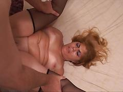 Sexy Blonde Slut Gets Fucked In The Ass By Hard White Cock