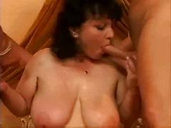 Big Titted Vixen Loves Her Wet Pussy Full