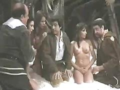 Babes In Bondage Are Stripped And Fondled