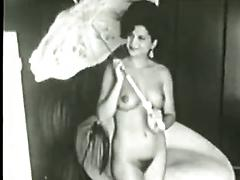 Vintage Busty Beauties Strip Down And Show It Off