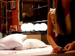 Korean Teen Getting Felt Up And Fucking On The Bed