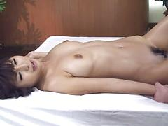 Curvy Hot Asian Gets Oiled Up And Fingered