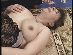 Mature bitch in stockings desires to bounce on hard cock