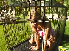 Caged Candy Let Out To Fuck