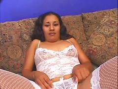 Exotic lady with a hairy pussy
